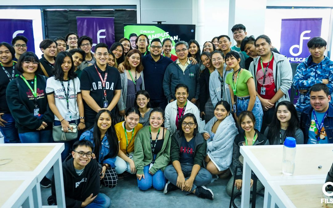 FILSCAP Campus Caravan: Davey Langit goes to Mint College