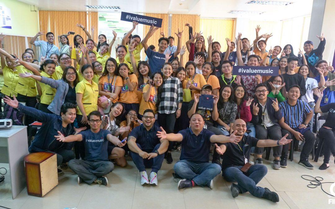 FILSCAP Campus Caravan: Aia De Leon goes to USPF Cebu